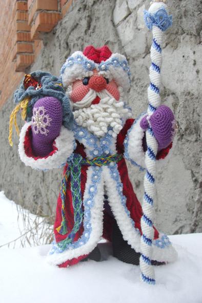 Дед Мороз - 2017 - этап 2, вязальная авнтюра