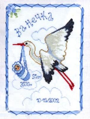 Тема. канва для вышивания Аида 14 белого цвета, нитки мулине Anchor, игла и цветная символьная схема.