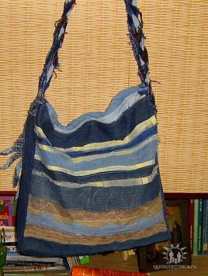 Описание: мужская сумка выкройка.