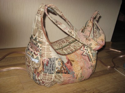 Сшить сумку из гобелена мастер класс разные модели